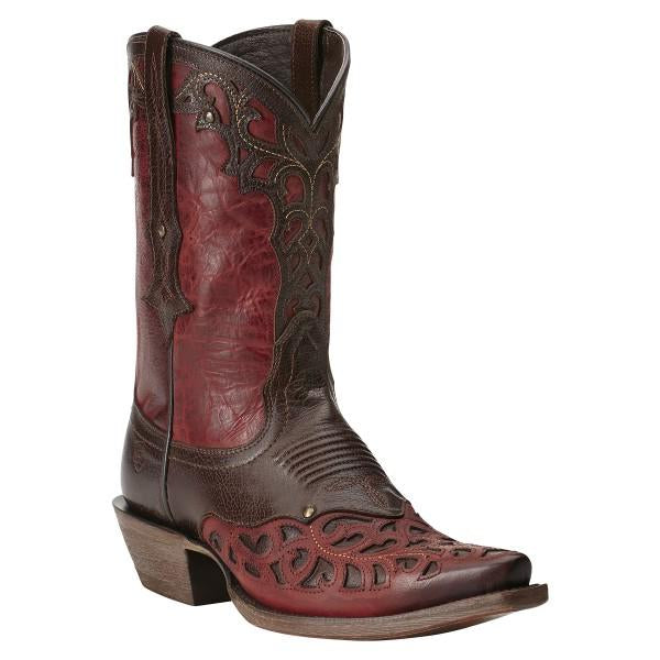 "Ladies Cowboy Boots Ariat ""Vera Cruz"" Rojo"
