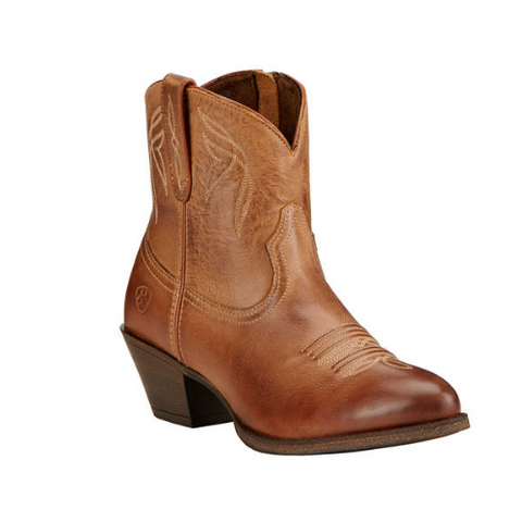 "Ariat Ladies ""Darlin"" Cowboy Boots – Burnt Sugar"