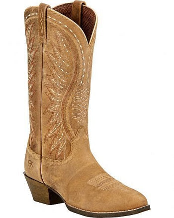 "Ariat ""Ammorette"" Ladies Cowboy Boots – Brown Bomber-SIZE 9"