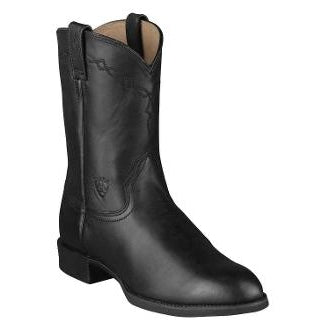 "Ariat Men's ""Heritage Roper"" Cowboy Boots - Black"