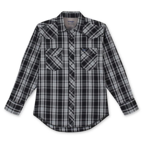 Wrangler Men's Western Workshirt - #MACW19X