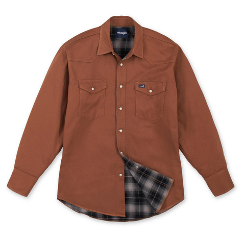 Wrangler Men's Western Work Shirt - # MS7207T