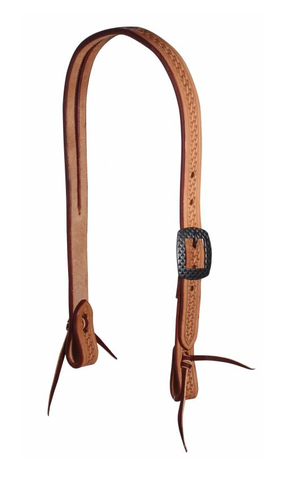 Professional's Choice Diamond Dot Tooled Slit Ear Headstall