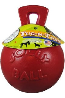 "Jolly Ball ""Tug-N-Toss"" - 4.5"""