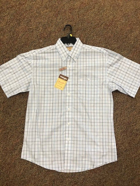 Wrangler Men's Short Sleeved Western Shirt - MG2189B