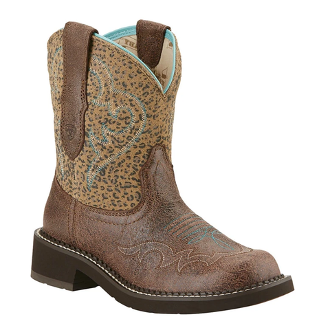 "Ariat Ladies ""Fatbaby Harmony"" Cowboy Boots"