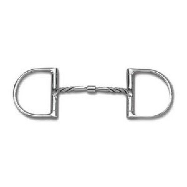 Myler Twisted Dee Ring MB09 with Hooks