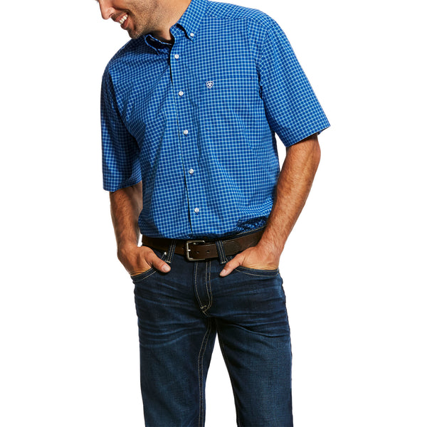 "Ariat Men's ""Naylon"" Western Short Sleeved Shirt"
