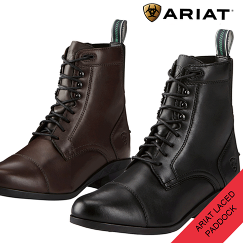 "Ariat ""Heritage IV"" Lace Paddock Boots"