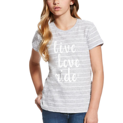"Ariat Girl's ""Live Love Ride"" T-Shirt"