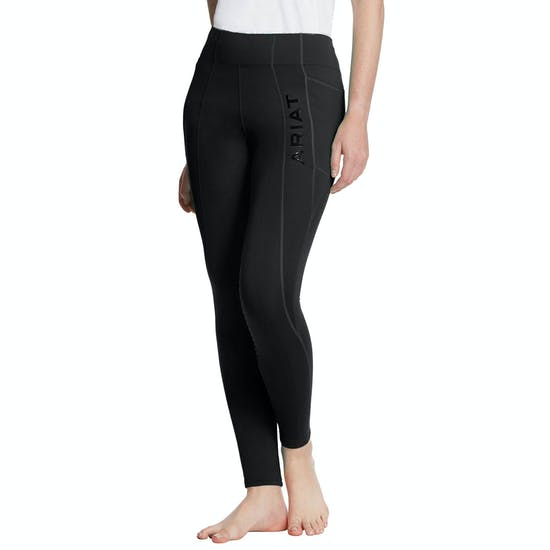 "Ariat Ladies ""Attain"" Winter Tights - Knee Patch"