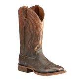 "Ariat Men's ""Far West"" Cowboy Boots - Naturally Distressed Brown"