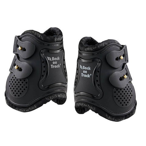 Back On Track® Royal Fetlock Boots-Black
