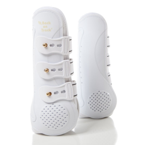 Back On Track® Royal Tendon Boots - White Horse Size