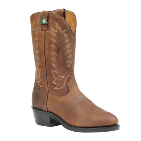 Men's Cowboy Boots Steele Toe Boulet #1372