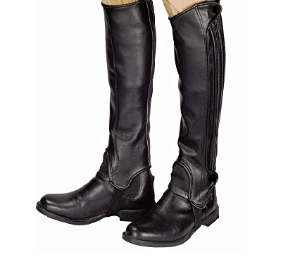Can-Pro Leather Half Chaps