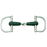 Cavalier Rubber Mouth Dee-Ring Bit
