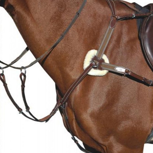 "HDR ""Pro"" 5-Point Elastic Breastplate Martingale"