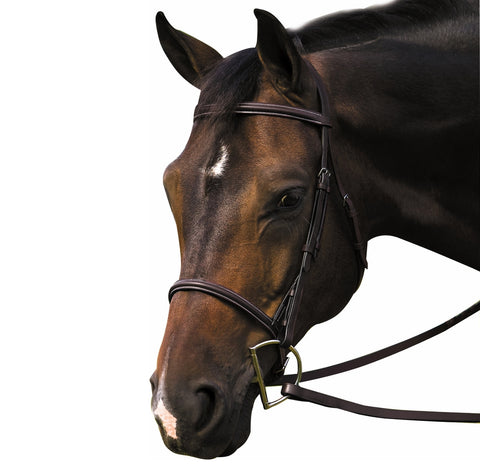 "HDR ""Advantage"" Square Raised Snaffle Bridle"
