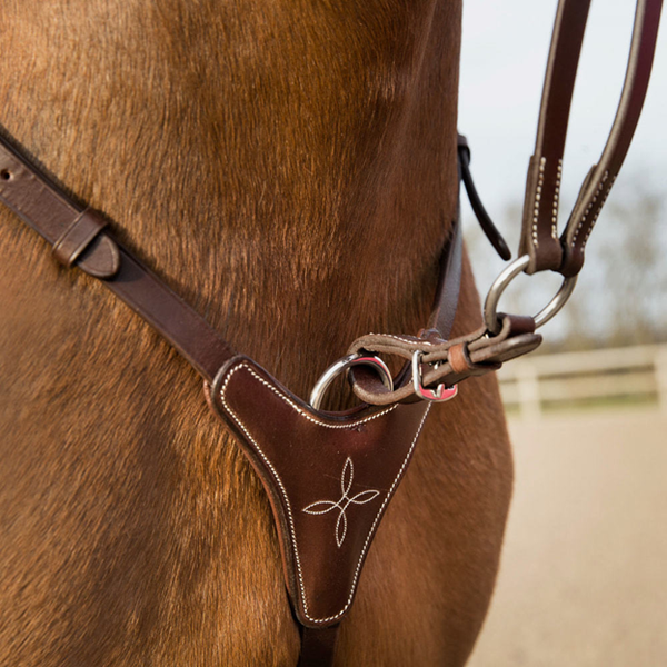 HORZE Adjustable Breastplate with Running Attachment