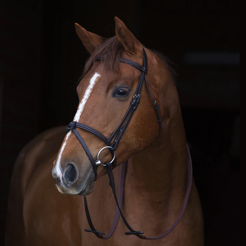 "Horseware ""Mio"" Bridle with Rubber Reins"