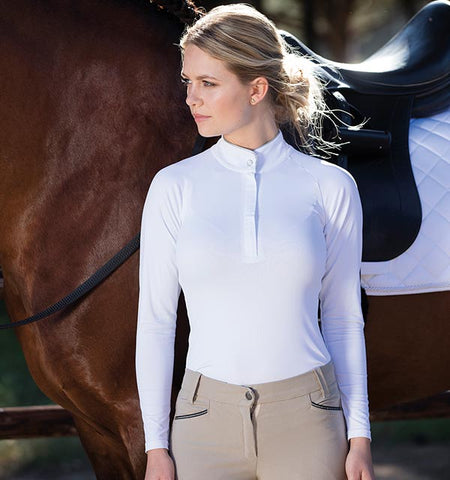 Horseware Sara Competition Long Sleeve Show Shirt