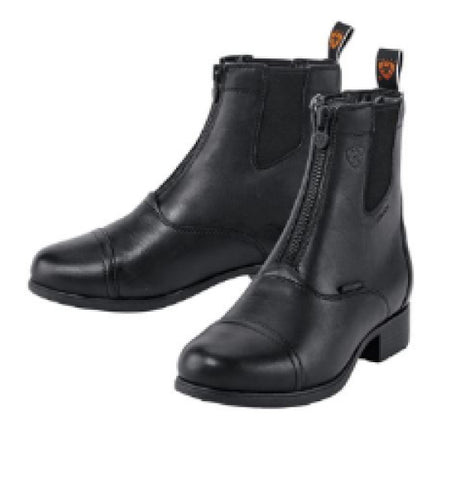 Ladies Ariat Bromont Pro Zip Insulated Paddock Boot - Black