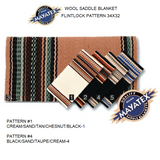 Mayatex Western Saddle Blanket-Flintlock Pattern