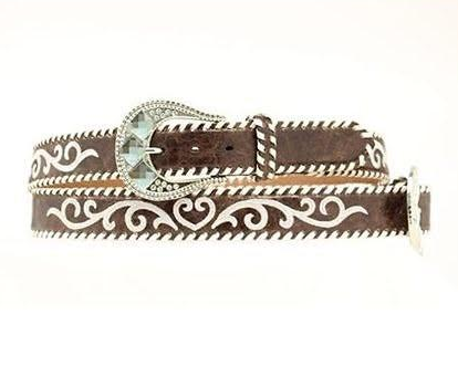 Ladies Embroidery Laced Belt-Size Small-Last Call