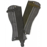 Ovation Children's Suede Ribbed Half Chaps