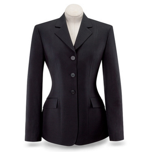 "R.J. Classics Ladies ""Devon"" Show Coat – Black"