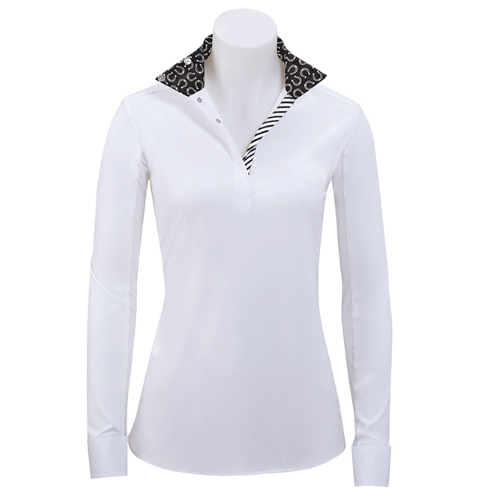 R.J. Classics Ladies Rebecca Show Shirt – Horseshoe Trim