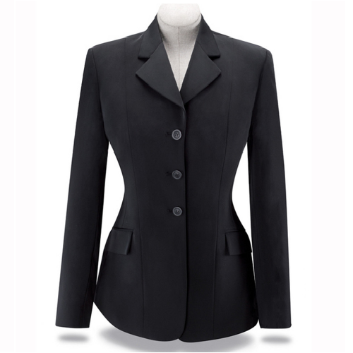 "R.J. Classics Ladies ""Xtreme Collection"" Softshell Show Coat – Black"