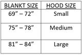 Tech2-0 Winter Turnout with Hood – Navy (250G)