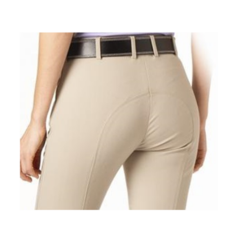 "Tuscany Premium ""Pearl"" Knee Patch Breeches – SIDE ZIP-Last Call"