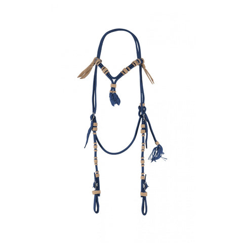 Vaquero Cross Knot Brow Headstall