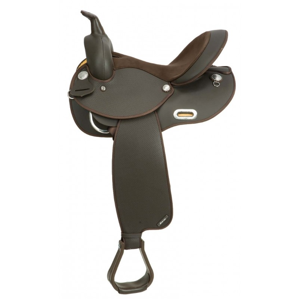 Wintec Barrel Western Saddle - Full Quarter Horse Bar