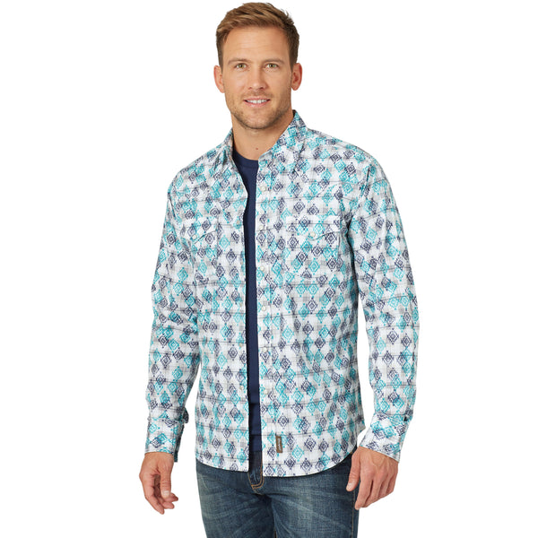 Wrangler Men's Retro Western Shirt - #MVR514B
