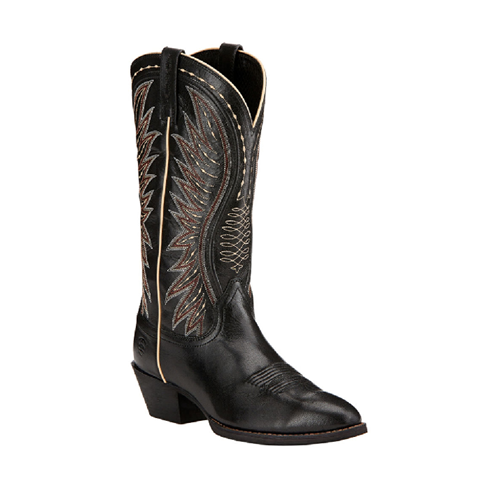 "Ladies Cowboy Boots Ariat ""Ammorette"" – Old Black"