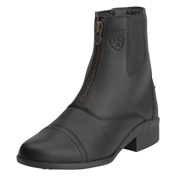 "Ariat Ladies ""Scout"" Zip Black Paddock Boots"