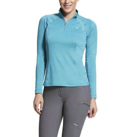 Ariat Ladies Sun Stopper 1/4 zip top