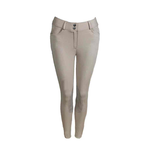 Tuscany Premium Knee Patch Slim Fit Breeches-FREE BELT*
