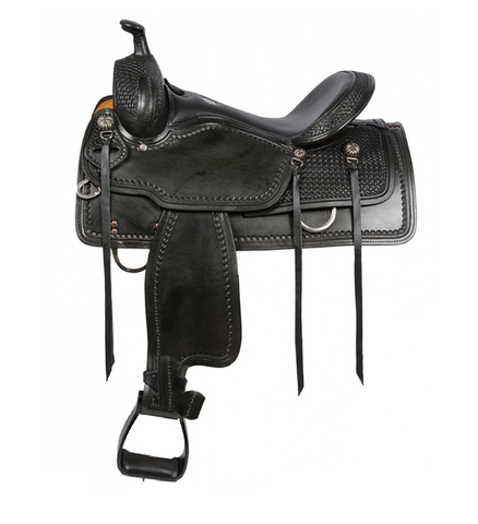 SIERRA Sylvester Black  Western Saddle