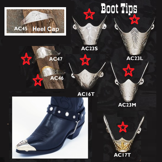 Boot tips & Heel Caps