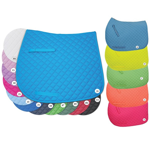 Century Colour Burst Pony Saddle Pad