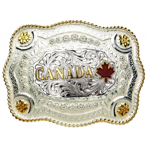 AndWest Canada Belt Buckle