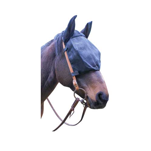 "Cavallo ""Ride Fly-Free"" Mask - With Ears"