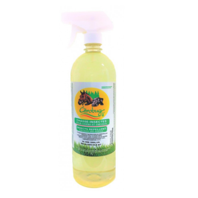 Citrobug Fly and Insect Repellent for Horses and Dogs  – 1 L
