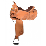 Country Legends Trail Barrel Western Saddle 15""