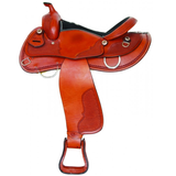 SIERRA Halflinger Draft Western Saddle